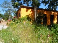 Camping Vauban lå i en dejlig have/Camping Vauban sits in a lovely garden