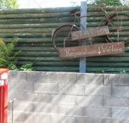 Der er også en cykelreparationsstation/Theyʹve even got a bike repair station