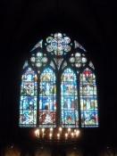 Ægte middelalderlige glasmalerier/Genuine medieval stained glass paintings