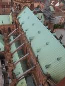 Én af verdens største sandstensbygninger/A view on one of the worldʹs largest sandstone buildings