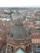 Kig hen over tårnet over korsskæringen/The tower above the intersection of the nave and transept