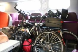 Fahrradplatz im TGV nach Paris