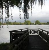 Am Ufer des Adour