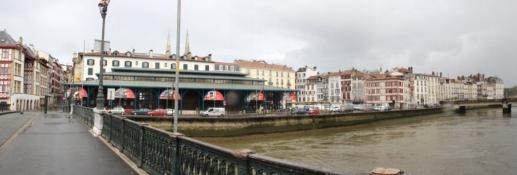 Bayonne, am Ufer der Nive