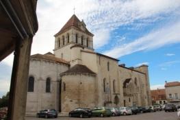 Mézin, Kirche Saint-Jean-Baptiste