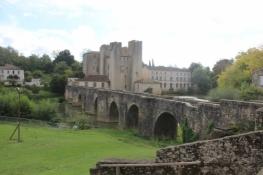 Barbaste, Pont roman über die Gélise und befestigte Mühle