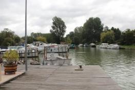 Buzet-sur-Baïse, Anlegeplatz am Canal latéral à la Garonne