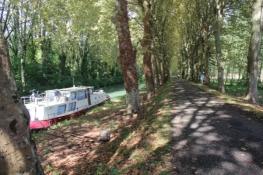 Am Canal latéral à la Garonne bei Buzet