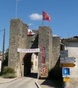 Sauveterre-de-Guyenne, Porte de la Font