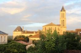 La Réole, ehemalige Priorei mit Kirche Saint-Pierre