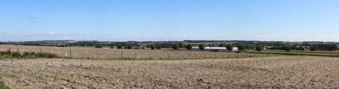 Landschaft hinter Barbezieux