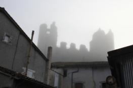 Saint-Germain, Festung im Frühnebel