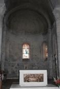 Chauvigny, in der Kirche Notre-Dame am Marktplatz der Unterstadt
