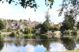 Blick über die Vienne auf Chauvigny