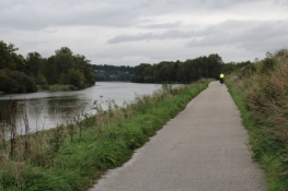 Radweg an der Loire
