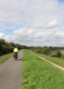 Loire-Radweg bei Avaray