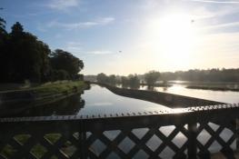 Einmündung des Canal dʹOrléans in die Loire