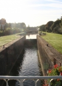 Schleuse am Canal dʹOrléans