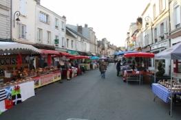 Markt in Nemours