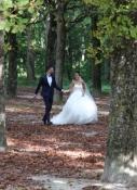 Schloss Fontainebleau, ein Platz für Hochzeitsfotos