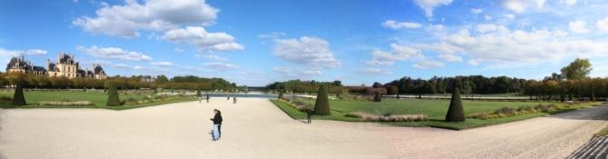 Schloss Fontainebleau, Park