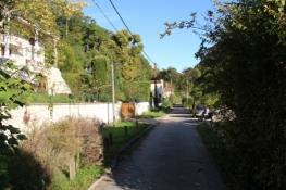 Radweg am Seine-Ufer vor Melun