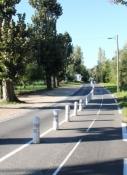 Radweg bei Melun