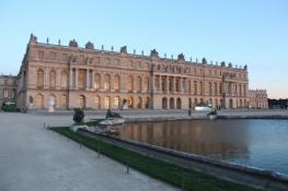Versailles, Schloss in der Abendsonne