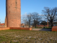 Borgområdet, som Gåsetårnet er en del af/The castle, of which the Goose tower is a part
