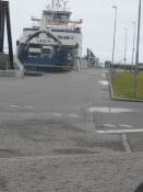 Færgen fra Langeland til Lolland over Storebælt/The ferry from Langeland to Lolland
