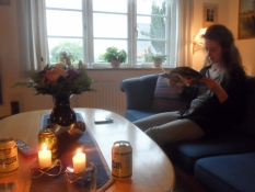 Aftenhygge hjemme hos min brors familie/A cozy evening with my brotherʹs family