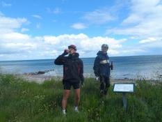 Vi nyder Kalapøjsere på Havnbjerg strand/We have the special beer ʺKalapoejserʺ on Havnbjerg beach