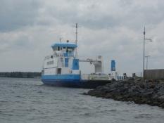 Færgen Bitten Clausen mellem Als og Sundeved/The ferry Bitten Clausen plies between Als and Sundeved