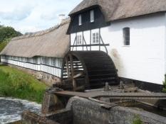 Brobyværk vandmølle med gård/The water mill and farm of Brobyvaerk