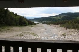 Mündung des Rosenbachs in die Drau