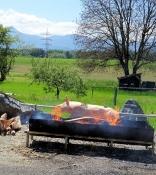 Festvorbereitungen in Ratschitschbach