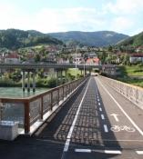 Neue Brücke in Dravograd