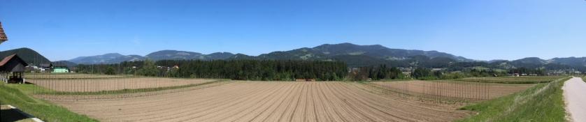 Landschaft bei Dravče