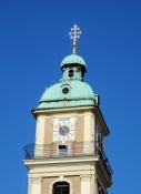 Turmspitze der Kathedralkirche in Maribor