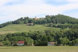 Kirche und Burg in Vurberk