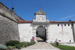 Tor zum inneren Schloss in Ptuj