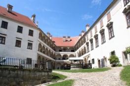 Hof des inneren Schlosses in Ptuj