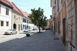 Straße in der Altstadt von Ptuj