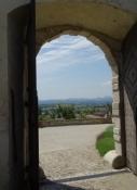 Südtor des Schlosses in Ptuj
