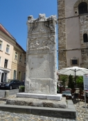 Römischer Grabstein, Altstadt von Ptuj