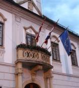 Rathausbalkon in Varaždin