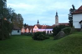 Altstadt von Varaždin von der Burg aus