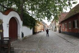 Straße in Varaždin