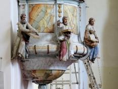 Kloštar Podravski, Kanzel der Pfarrkirche