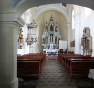 Kloštar Podravski, Innenraum der Pfarrkirche